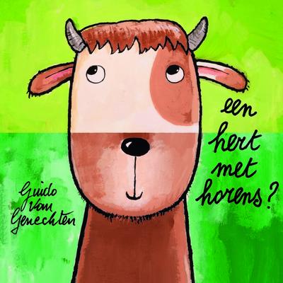 Kijk- en doeboek Hert met horens