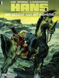 Hans 08. gezicht van het monster -