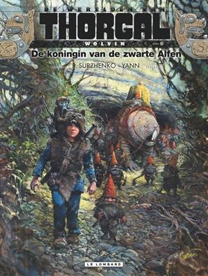 Thorgal, wereld van: wolvin Hc06. de koningin van de zwarte alfen