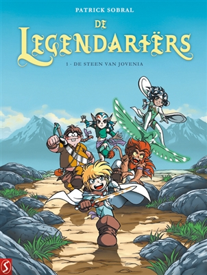 Legendariers 01. de steen van jovenia -