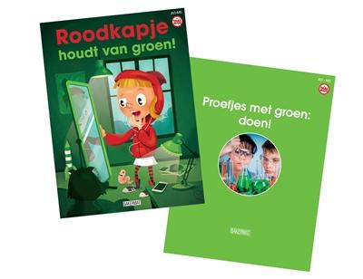Pakket taalbende roodkapje houdt van groen + kleuren informatief