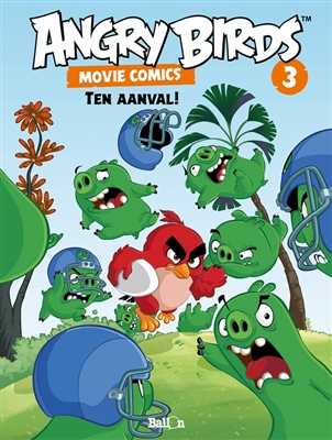 Angry birds - movie comics 03. ten aanval!
