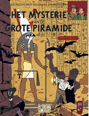 Blake en mortimer 04. het mysterie van de grote piramide 01: het geheim van manethon -