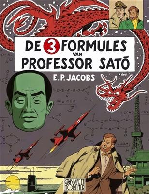 Blake en mortimer 11. formules van professor sato 01: mortimer in tokio -