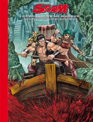Storm luxe Hc24. de bronnen van marduk (dossier editie)