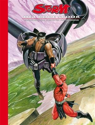 Storm luxe Hc25. het rode spoor (dossier editie)