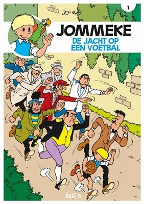 Jommeke 001. de jacht op een voetbal