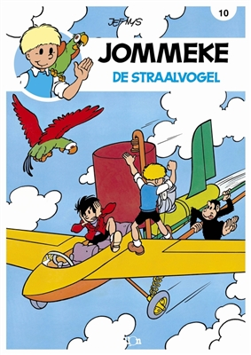 Jommeke 010. de straalvogel