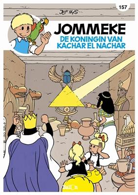 Jommeke 157. de koningin van kachar el nachar