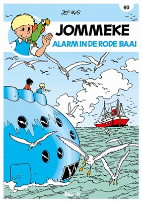 Jommeke 060. alarm in de rode baai