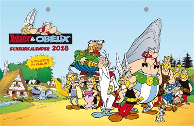 Asterix & obelix scheurkalender 2018. asterix & obelix scheurkalender 2018