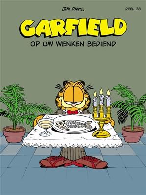 Garfield album 133. op uw wenken bediend