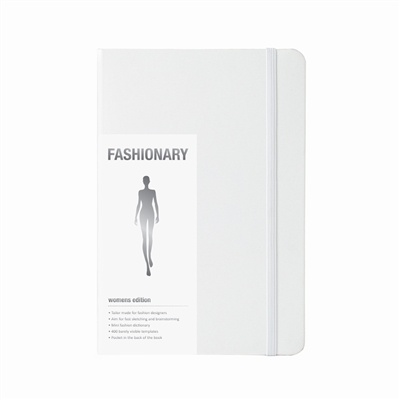 Fashionary a5 womens purewhite