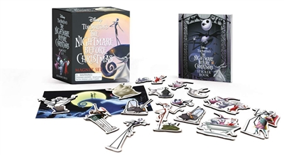 Running press mini kits Tim burton's the nightmare before christmas magnet set