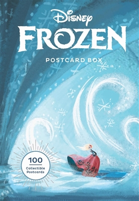 Disney frozen postcard box: 100 postcards